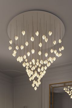 Bloom by Haberdashery is a lighting range inspired by the first blooms of spring Circular Dining Table, Dining Tables, London Design Week, Create A Board, Luxury Lighting, Light Installation, Reception Rooms, Luxury Interior, Bud