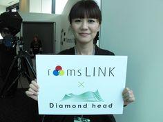 この画像は、roomslinkオフィシャルイベントとして会場にてスナップ撮影を行い投稿しています。    roomslink ×ダイアモンドヘッド特設サイト http://monozoku.com  roomslinkオフィシャルサイト http://roomslink.com
