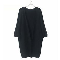 New-Women-Casual-Long-Bat-Sleeve-Loose-Tops-Coat-Cardigan-Shawl-Blouse-Sweater