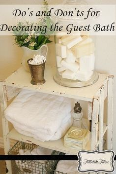 Tips for Decorating the Guest Bath