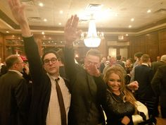 PsBattle: Tila Tequila doing a nazi salute with white supremacists in Washington DC