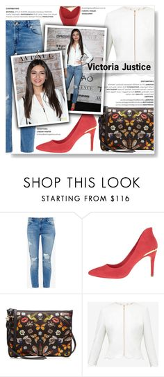 """""""Get The Look... Victoria Justice"""" by yurisnazalieth1 ❤ liked on Polyvore featuring Ted Baker, Alexander McQueen, Kane, GetTheLook, celebstyle and victoriajustice"""