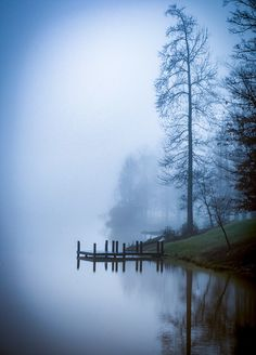 Misty Lake Emory (Inman, South Carolina) by Donnie Bagwell