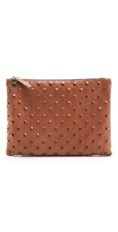 studded Clare Vivier clutch on sale