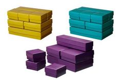 Stylish Paper & Media Boxes from IKEA