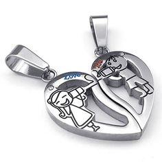 Love Keychain, Thing 1, Stainless Steel Jewelry, Becca, Cufflinks, Jewellery, Children, Accessories, Friendship Necklaces