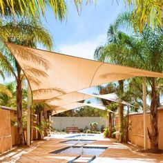 Best Waterproof Uv Protection Shade Sail Garden Yard Size 36*36 Rectangle Fabric Sun Shades Outdoor Sun Sail Multi Colors Options Under $90.81 | Dhgate.Com