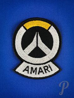 Captain Amari Ana inspired patch // ornament, cosplay prop. Different Colors, Badge, Patches, Iron, Cosplay, Ornaments, Inspired, Fabric, Etsy