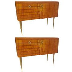 Pair Italian Cabinets from Antiques of River Oaks on 1stDibs - Questions Call: 713-961-3333