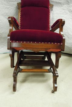 Eastlake Style Chair  Eastlake Style Glider Rocking Chair