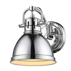 Best Photo Gallery Websites Golden Lighting BA CH Duncan Light Bathroom Sconce Inches Wide