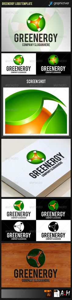 Natural Green Energy Logo