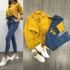 Shirt + denim bow pant Size till xxl FREE GIFT 🎁 No cod Payment mode is banking or paytm   Teen Fashion Outfits, Mode Outfits, Girl Outfits, Fashion Ideas, Teenager Outfits, College Outfits, Cute Casual Outfits, Stylish Outfits, Western Outfits