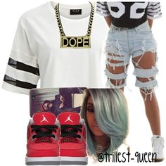 . by trillest-queen on Polyvore featuring VILA