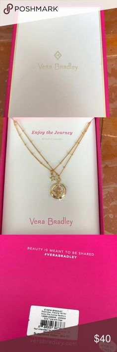 Necklace- Vera Bradley Vera Bradley gold necklace Vera Bradley Jewelry Necklaces
