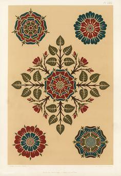 New art deco design pattern illustrations ideas Greek Pattern, Pattern Art, Pattern Design, Arabic Pattern, Textile Patterns, Textile Prints, Print Patterns, Fleurs Art Nouveau, Medieval Pattern