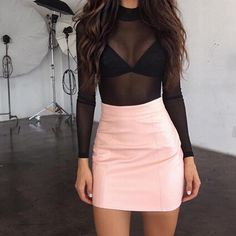 36 Cute Outfit Ideas for Summer – Summer Outfit Inspiration - Style O Check Club Outfits, Mode Outfits, Night Outfits, Skirt Outfits, Summer Outfits, Fashion Outfits, Party Outfits, Wedding Outfits, Clubbing Outfits