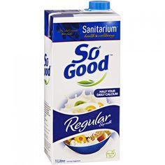 Băutură  de soia simplă - 1L - îmbogățită cu vitamine și minerale Este fără lactoză, coloranți sau arome artificiale. Comandă acum și beneficiezi de 25% reducere! Personal Care, Bottle, Food, Self Care, Flask, Meals, Yemek, Jars, Eten