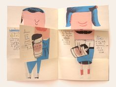 Thrilling Keep A Sketchbook Have Fun Ideas. Awe-Inspiring Keep A Sketchbook Have Fun Ideas. Art Zine, Exquisite Corpse, Buch Design, Handmade Books, Children's Book Illustration, Altered Books, Art Plastique, Bookbinding, Graphic