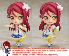 Nendoroid Riko Sakurauchi from LoveLive! Sunshine!!   #rinkya #japan #fromjapan #nendoroid #lovelive