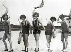 I don't know what pelota is, but these women are playing it and looking awesome. England, 1925.