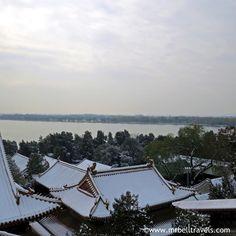 Rooftop views over Kunming Lake at the Summer Palace Beijing