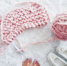 Repost from @innaadamenya. Knitting with Loopy Mango Big Loop Yarn - available on loopymango.com