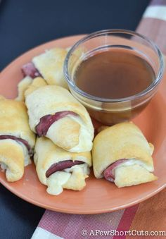 French Dip Crescents & Simple Au Jus-4 - A Few Short Cuts