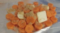 Crock Pot Sweet Carrots - Cook them with potatoes and your side dishes are done!