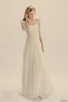 Cortana Wedding Dresses | Wedding Inspirasi #beachwedding