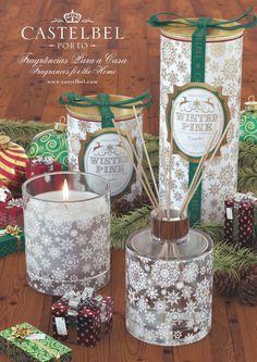 Castelbel Winter Pine - Colecção de Natal  Castelbel Winter Pine - Christmas Collection
