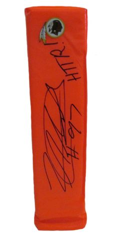 Lorenzo Alexander signed Washington Redskins full size football touchdown end zone pylon w/ proof photo.  Proof photo of Lorenzo signing will be included with your purchase along with a COA issued from Southwestconnection-Memorabilia, guaranteeing the item to pass authentication services from PSA/DNA or JSA. Free USPS shipping. www.AutographedwithProof.com is your one stop for autographed collectibles from California Golden Bears. Check back with us often, as we are always obtaining new…