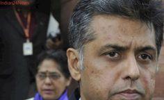 Congress' Manish Tewari Suggests Link Political Party Funding With Aadhaar