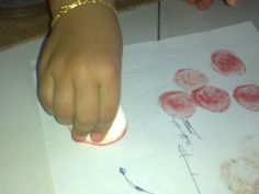 "Printing with Marshmallows ("",)"