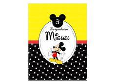 Rótulo Bisnaga - Mickey