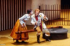 Canadian soprano Teresa Stratas and tenor Jon Vickers perform in the Metropolitan Opera/John Dexter production of 'The Bartered Bride' at the final dress rehearsal prior to its premiere at. Bride Pictures, Metropolitan Opera, Rehearsal Dress, Bridal Pictures