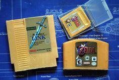 Ultimate Zelda Soap Pack  NES Cart Soap N64 Cart Soap by NerdySoap