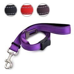 PerSuper Pet Dog Cat Seat Belt, Adjustable Multifunction Car Safety Leads Vehicle Seatbelt Harnesses, Safety Nylon Dog Leash with Reflective Fabric * You can get more details by clicking on the image. (This is an affiliate link and I receive a commission for the sales)