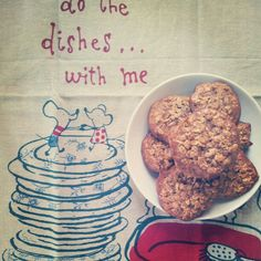 oatmeal cookies via 101cookbooks