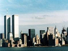 World Trade Center ~ found the snapshots that I took many years ago from the Statue of Liberty of NY city. The snapshot included the WTC.It looked very similar to this picture. Took my breath as I looked at the snapshot and realized the towers were no longer.