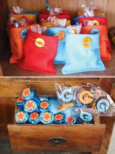 Decoración de Fiesta Infantil de Dragon Ball Z : Fiestas Infantiles Decoracion