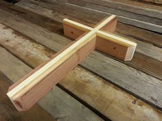 Layered Wall Cross by DITR on Etsy