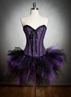 Size medium Purple and black Burlesque Vampire corset dress with sparkle cape and black roses Ready to Ship Kohls Dresses, Prom Dresses, Sparkle Dresses, Corset Dresses, Purple Corset, Chesire Cat, Adult Tutu, Royal Clothing, Purple Sparkle