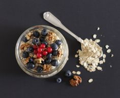 Overnight oats ou papas de aveia cruas - Made by Choices