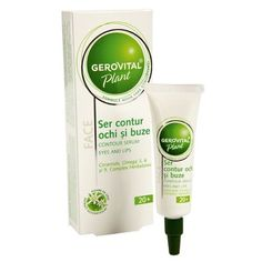Eyes and Lips Contour Serum Antiwrinkle Antidark circles Gerovital Plant Farmec