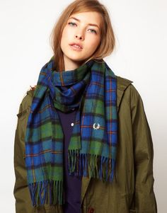 fred perry scarf