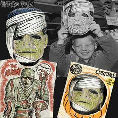 """Ben Cooper Halloween costume of """"The Mummy"""""""