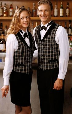 Could this be what Elaina's waitress uniform looks like?