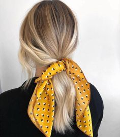 Eccentric Two Peaks Updo - 15 Diverse Hairstyles for Long Natural Hair - The Trending Hairstyle Long Natural Hair, Long Brown Hair, Face Shape Hairstyles, Scarf Hairstyles, Cute Ponytail Hairstyles, Hair Scarf Styles, Short Hair Styles, Long Shag Haircut, Blonde Ponytail