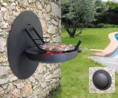 Useful Sculpture Outdoor Grill Design from Focus Barbecue Grill, Grilling, Modern Outdoor Grills, Grill Design, Barbeque Design, Outdoor Living, Outdoor Decor, Outdoor Fire, Charcoal Grill